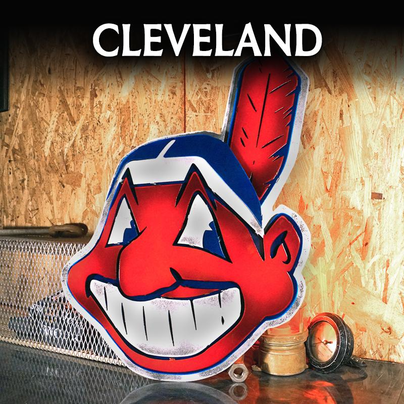 Cleveland Indians  -- LIMITED SUPPLY -CANCELLED AS OF SEPTEMBER 2021