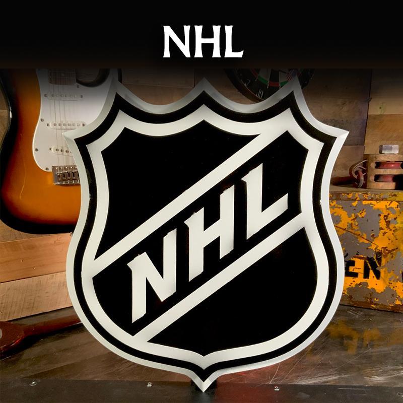 NATIONAL HOCKEY LEAGUE NHL SHIELD WALL ART